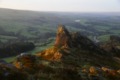 Ramshaw Rocks at sunrise (philept1) Tags: outdoors autumn peakdistrict staffordshire leek countryside view bridge nationalpark moorland ramshaw sunrise