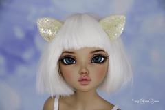 Sparkling Cat set Yosd/Msd (AnnaZu) Tags: cat ears tail set sparkling minifee mnf chloe tan sale for selling annazu annaku vesnushkahandmade etsy polymer clay polymerclay magnetic