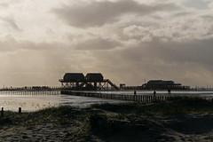P1960485 (Lumixfan68) Tags: bad st peterording schleswigholstein nordsee wattenmeer strand licht schatten pfahlbauten