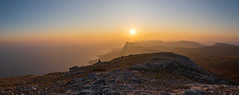 Alone (gubanov77) Tags: panorama crimea nature sunset merdvenkayasy mountains nationalgeographic tourism мердвенкаясы крым topview sun sunlight sunrays goldenhour travelphotography travel landscape