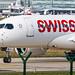 Frankfurt Airport: Swiss (LX / SWR) |  Airbus A220-100 BCS1 | HB-JBI | MSN 50018