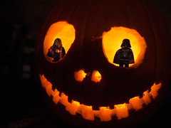 Imperial Halloween (crosathorian) Tags: lego starwars halloween imperator darthvader olympus2518