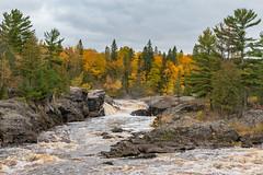 Rocks, Water and Trees (Greg Riekens) Tags: rocks autumn usa landscape fallcolors jaycookestatepark river nikond500 scenic stlouisriver statepark trees midwest fall fallleaves minnesota
