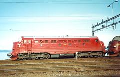 NSB Di 3 607 (Stig Baumeyer) Tags: diesellocomotive diesel diesellokomotiv diesellok diesellokomotive di3 nsb norgesstatsbaner nsbdi3 nohab nohabgm nydqvistholm generalmotors gm gm16567 trondheim trollhättan