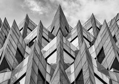 Gothic London (Joseph Pearson Images) Tags: building architecture abstract london gmwpartnership minstercourt blackandwhite bw mono postmodern