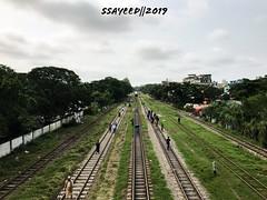 DAILY LIFE 1.1 (ssayeedbm) Tags: bangladesh chittagong photography green people railline dailylife urbanbeauty urbanlife