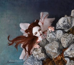 The cliff (pure_embers) Tags: pure laura embers porcelain bjd hobby collector doll dolls england uk girl zuluminous sparrow pureembers holy skeleton painted photography photo ball joint portrait fine art beauty cliff falling dramatic
