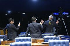 Plenário do Senado (Senado Federal) Tags: ordemdodia plenário senadormajorolimpiopslsp sessãodeliberativaordinária transmissão aovivo gravação vídeo celular smartphone assessor brasília df brasil