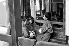Primary School Boys (ROSS HONG KONG) Tags: bayta primary school boys schoolboys students unifor black white blackandwhite bw monochrome noir blanc leica m8 noctilux 095 50mm