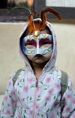 Happy Halloween (the foreign photographer - ฝรั่งถ่) Tags: halloween mask girl khlong lard phrao portraits bangkhen bangkok thailand nikon d3200