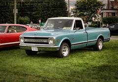 Looking Pretty (HTT) (13skies) Tags: singleshothdr truck bluetruck old classic beautiful carshow happytruckthursday truckthursday htt cool headlights grill twotone fast neat smart pickuptruck pickup rims chevrolet
