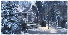 WINTER COTTAGES FOR RENT NOW AVAILABLE  ❄️☃️❄️ (☀Vita Camino☀) Tags: firestorm secondlife sl winter cottage rent sim vita camino snow textures rentals secondlife:region=delvaux secondlife:parcel=thefourvillagesresidentialandpublicsim secondlife:x=148 secondlife:y=108 secondlife:z=2003
