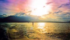 Sunset Wakeboarding