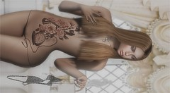 Hot Shower (tarja.haven) Tags: kiratattoo avaway sirengraph necklace bentorings maitreyarings hair meshhair meshjewellery meshnecklace tattoo photography photo pixelart tarjahaven avatar avatare sl secondlife digitalart fashion virtual