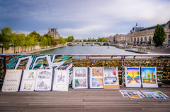 Art on the Seine (Neil Cornwall) Tags: france october europe 2019 fall september parisfrance