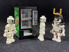 2019-303 - Sugar Addiction Awareness Day (Steve Schar) Tags: buildbetterbricks vendingmachine sodapop pop soda skeletons skeleton sugar minifigure lego iphonexs iphone project365 sunprairie wisconsin 2019
