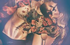 ʸᵒᵘ ᵃʳᵉ ᵐʸ ʰᵉᵃᵛᵉⁿ.... (scarlettrose.karsin) Tags: vegastattoo tattoo bodyart bodyink love sl secondlife blog blogger blogging doux legacy signature genusproject