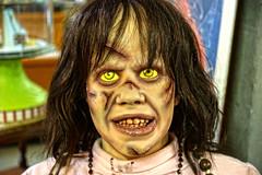 """I am not Regan..."" ©twe2018☼ (theWolfsEye☼) Tags: thewolfseye horror creepy gruselig theexorcist derexorzist doll puppe regan imnotregan hollywood movies filme horrormovie horrorfilm williamfriedkin lindablair"