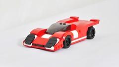 Porsche 917K (KMP MOCs) Tags: lego legomoc moc car supercar hypercar gt sportscar vehicle afol scalemodel toy legocar speedchampions porsche 917k autosport motorsport racer race racing lemans lemans24hr 917