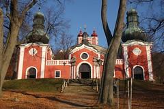 Calvary, Banská Štiavnica - Lower Church (18th cent.) with the Upper Church in the background (sandorson) Tags: slovakia felvidék banskáštiavnica selmecbánya kálvária calvary baroque kalvária schemnitz