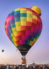 Morning Ascension (Mark Chandler Photography) Tags: newmexico color canon balloons october pattern albuquerque nm hotairballoons 2019 albuquerqueinternationalballoonfiesta markchandler 7dmarkii sky colour festival photo fiesta stock morning photography flight