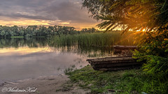 Rest (kud4ipad) Tags: 2018 dniper hdr prokhorovka ukraine boat landscape sky sunset water прохоровка