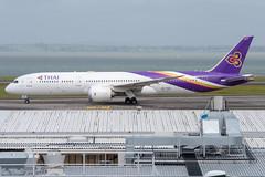 Thai Airways Boeing 787-900 Dreamliner; HS-TWB@AKL;19.10.2019 (Aero Icarus) Tags: aucklandinternationalairport akl newzealand plane avion aircraft flugzeug thaiairways boeing787900 dreamliner hstwb