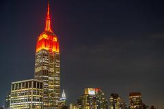 ESB ll (fate atc) Tags: esb empirestatebuilding manhattan murrayhill newyork buildings city frommidtown lights night nightphotography skyline
