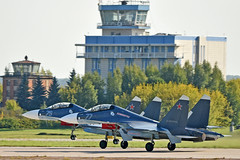 Sukhoi Su-30SM Flanker-H RF-81881 & RF-34013 (Nils Mosberg) Tags: rf34013 rf81881 zhukovsky maks2019 russiannavalaviation sukhoisu30smflankerh