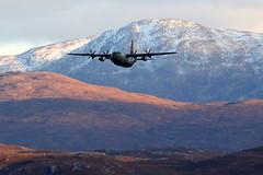 Hercules (Ally.Kemp) Tags: hercules scottish highlands glen aircraft flying flight bomber