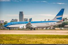 [AEP.2015] #Aerolineas.Argentinas #AR #ARG #Boeing #B737 #B738 #LV-FWS #Winglets #awp (CHRISTELER / AeroWorldpictures Team) Tags: aerolineasargentinas ar arg airliner airlines southamerica argentine argentinas plane aircraft airplane avion boeing b737 b738 7378lp b737800 wl winglets msn417115136 cfmi cfm56 lvfws utairaviation vqbmf acg lease aviationcapitalgroup n471ag planespotting spotting buenosaires airport aeroparquejorgenewbery aep sabe aeroparque jorgenewbery spotter planespotter christeler avgeek aviation photography aeroworldpictures awpteam nikon d300s nef raw lightroom nikkor 70300vr chr
