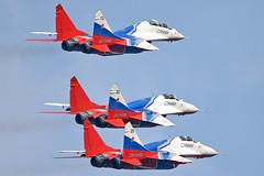 Swifts Aerobatic Team (Nils Mosberg) Tags: teamstrizhi maks2019 zhukovsky swiftsaerobaticteam mig29fulcrum