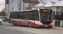 Borders Buses 11705 YJ17 FWV (31/10/2019) (CYule Buses) Tags: service60 bordersbuses wcm westcoastmotors metrocity optare optaremetrocity yj17fwv 11705