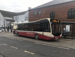 Borders Buses Optare Metrocity YJ17FWV 11705 (Daniely buses) Tags: wcm optare westcoastmotors optarebus optaremetrocity bordersbuses yj17fwv 11705 service60