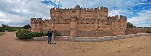 Panoramica del castillo de Coca