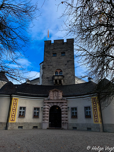 Schloss Ringberg - Eingang