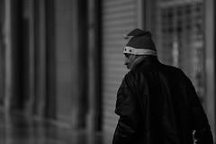 _X5C5146 (carlo612001) Tags: monochrome mono portrait streetart streetportrait people santa journalism reallife homeless clochard bnwportrait bnw