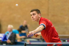 1P0A3961 (Chris Rayner Table Tennis Photography) Tags: stockton junior 4 table tennis tournament tees active thornaby pavillion ping pong england tte sports sport photography chris rayner photogrpahy butterfly