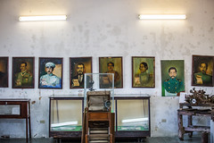 How Many Years? (Thomas Hawk) Tags: baja bajacalifornia cabo cabosanlucas loscabos mexico museodelacasadecultura museum todossantos painting fav10