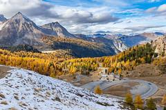 Relais Napoléon - Col de l'Izoard (jean-louis21) Tags: queyras clouds montagne neige col montain napoléon relais mélèzes