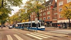 Langs de Lijn: Herfstbeelden 3 (Peter ( phonepics only) Eijkman) Tags: amsterdam city combino gvb tram transport trams tramtracks trolley rail rails strassenbahn streetcars nederland netherlands nederlandse noordholland holland