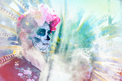 10.27.18 DDLM 3 (Marcie Gonzalez) Tags: 2018 hollywood forever cemetery cemeteries death life celebration event events southern california calif ca los angeles county socal so cal north america us usa united states hispanic mexican mexico tree dia de muertos all souls day dead halloween ghost ghosts graves día skull skulls skeleton painting costume custom art night painted tyler cassity