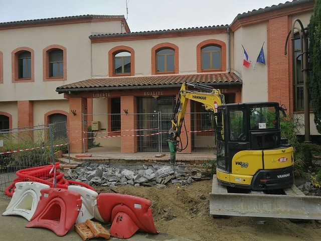 Photo 2 - Travaux quartier de la Mairie
