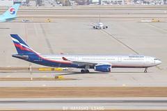 AEROFLOT A330-343  VQ-BQX (1008twice) Tags: aeroflot vqbqx a330 a333 airbus icn rksi skyteam аэрофлот afl airplane