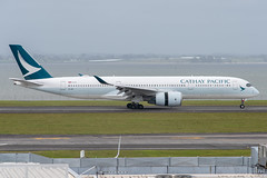 Cathay Pacific Airbus A350-900; B-LRE@AKL;19.10.2019 (Aero Icarus) Tags: newzealand plane aircraft akl flugzeug avion aucklandinternationalairport cathaypacific blre airbusa350900