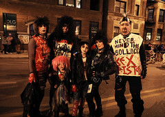 Punk Rock Family (kirstiecat) Tags: sexpistols punkrock halloween chicago people costumes family parents kids children wigs