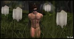 Where I am ? / Où je suis ? / Donde estoy ? (Retogay (SL)) Tags: gay mesh men male signature gianni secondlife catwa victor piercing modulus tattoojape necklacerlv forest phantom fog tree bandeau skeleton toattach black naked