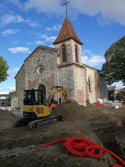 Photo 1 - Travaux quartier de la Mairie