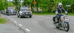 1968 BMW R 60/2 Police motorcycle (Gösta Knochenhauer) Tags: 2016 may stockholm sverige sweden capital djurgården gärdesloppet prins bertil memorial car veteran panasonic lumix fz1000 dmcfz1000 classic leica lens p9040092nik p9040092 nik