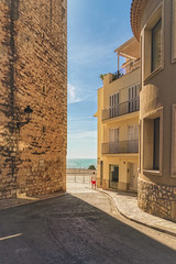 Sitges Street (justenoughfocus) Tags: aurorahdr sonyalpha spain bealpha buildings catalonia europe madewithluminar mediterranean old sitges sky skylum sonyimages street streetphotography travel travelphotography barcelonaprovince